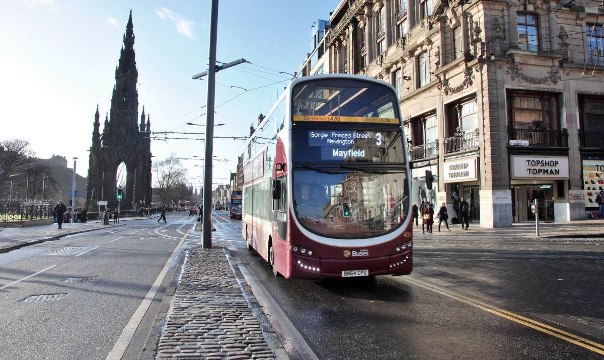 Public Transit Guide : Edinburgh