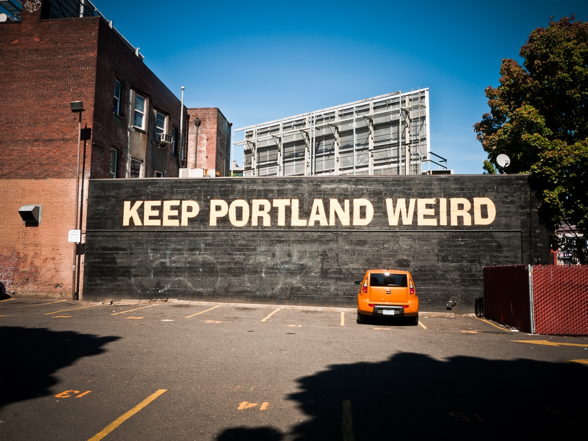 Portland (OR), USA - An effortlessly cool city