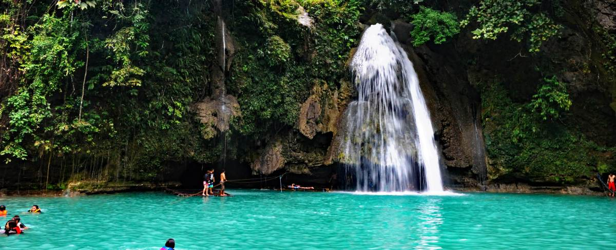 Kawasan falls day trip, Cebu (Day 8 Philippines)