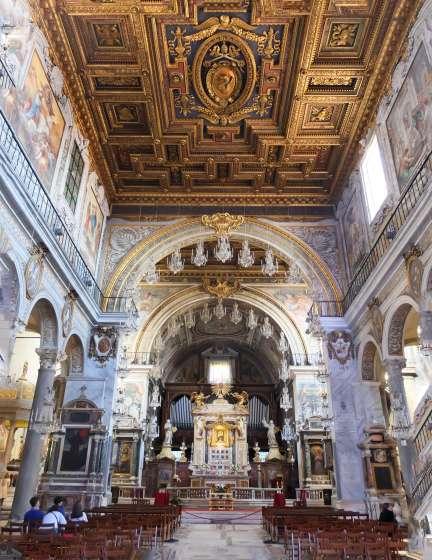 Chandelier chapel