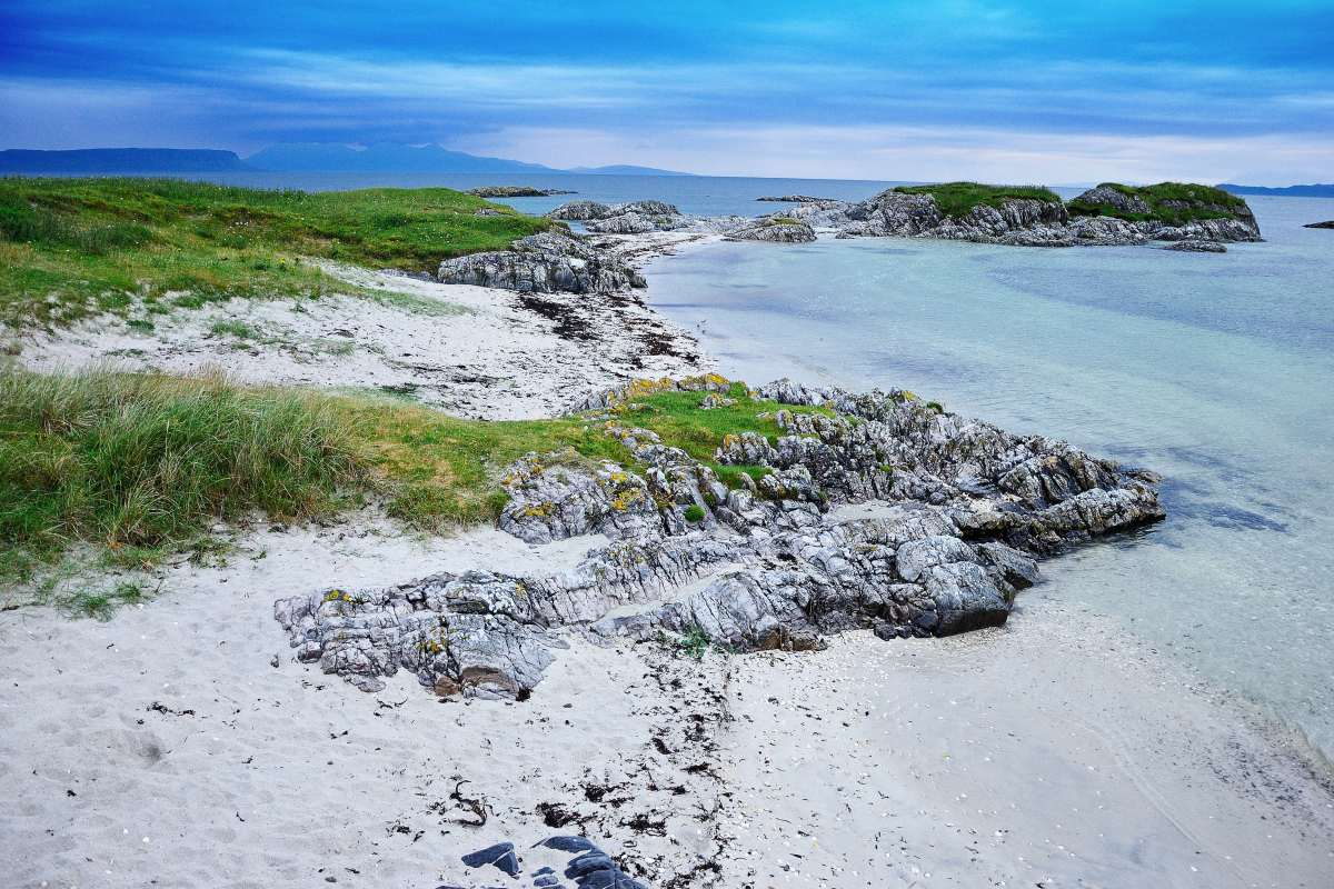 Camping, hiking & beaches at Arisaig & Isle of Rum, Scotland (Day 23 & 24)