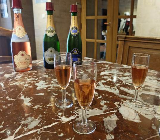 Champagne tasting in Bouzy France