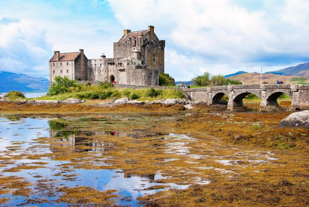 The Eilean Donan Castle near Kyle of Lochalsh, Scotland
