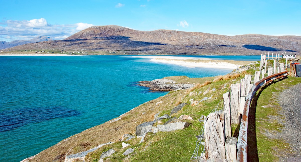 A lovely summer daytrip around the Isle of Harris, Scotland