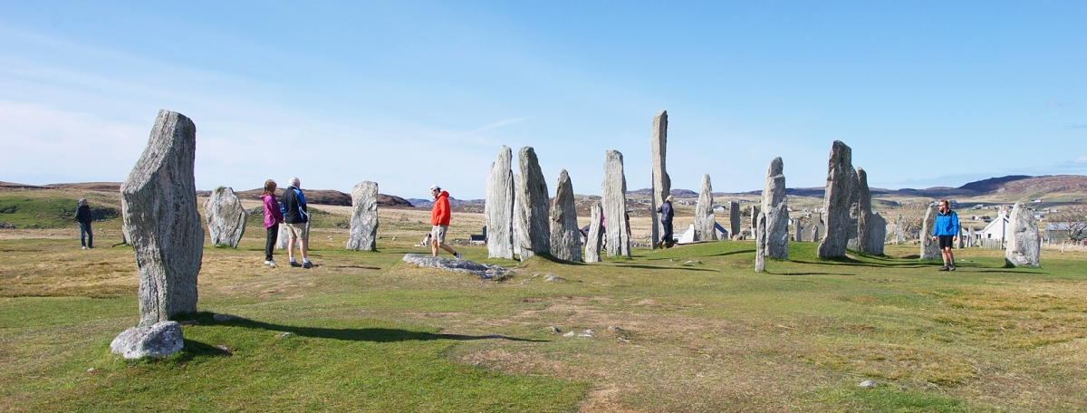 A relaxing & romantic holiday in the Outer Hebrides without a car