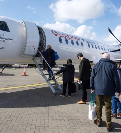 loganAir-stornoway-boarding-beyondourhorizons